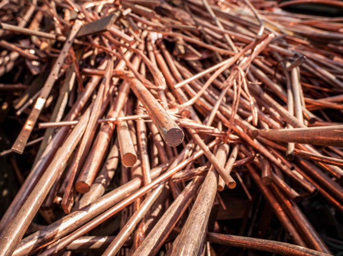 Copper - purchase and sale | Jansen Recycling Group