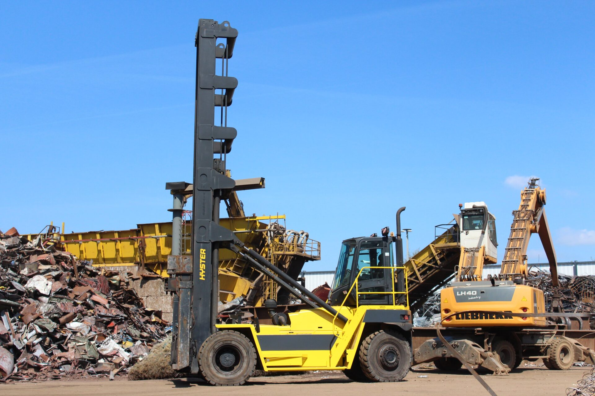 New forklift truck Hyster